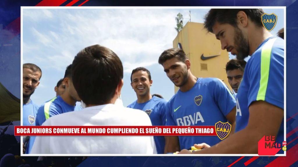 El tremendo gesto de Boca Juniors con Thiago, un joven hincha con cáncer que soñaba con conocer a sus ídolos