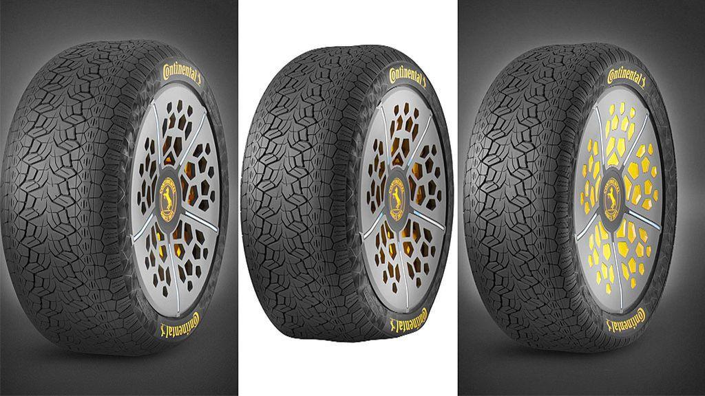 Así son los neumáticos inteligentes que se adaptan a las condiciones de la carretera