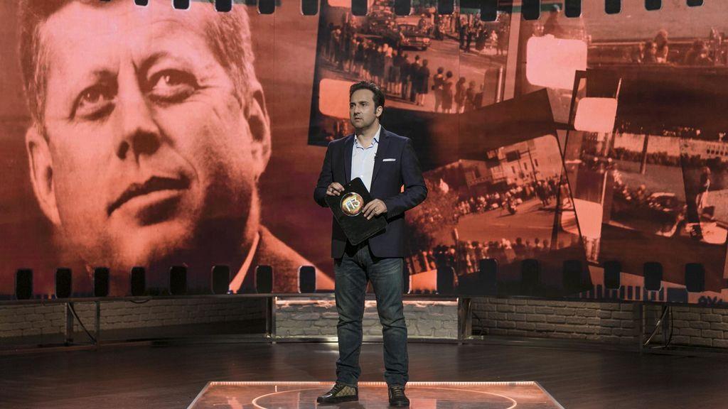 Iker Jiménez, en el especial sobre Kennedy de 'Cuarto milenio'.