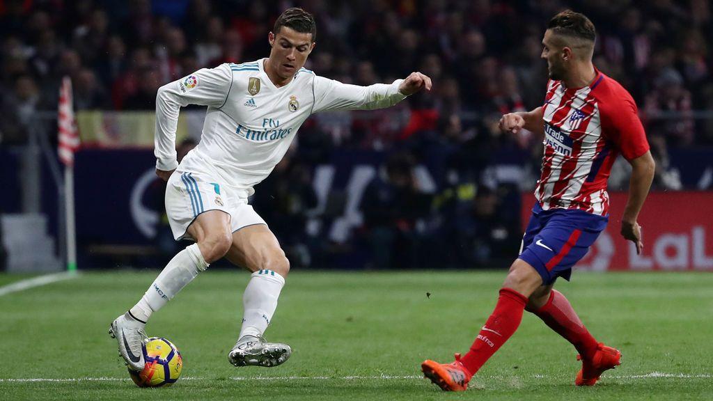 Atlético y Real Madrid firman las tablas y se quedan a 10 puntos del Barça