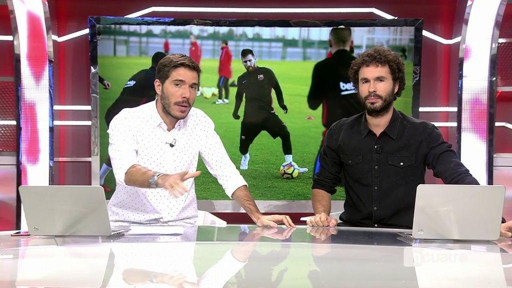 Messi, con el triple de goles que la BBC, mientras Suárez busca reencontrarse con el gol