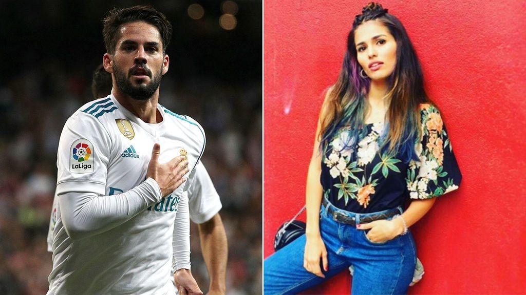 Sara Sálamo, en el Metropolitano y con el corazón dividido entre Isco y el Atleti
