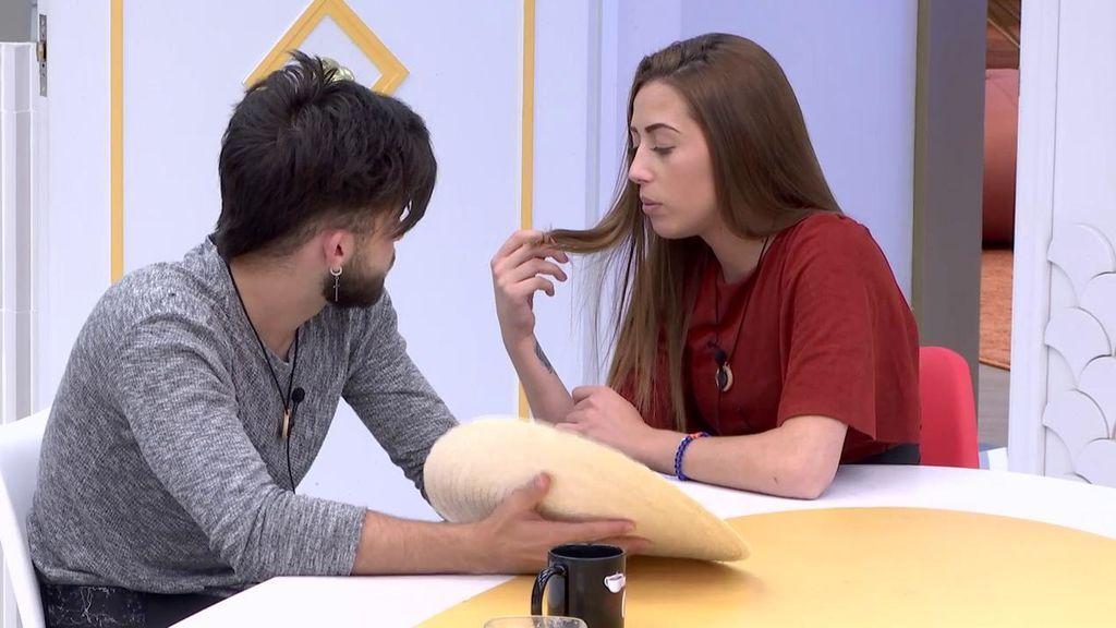 """Domingo 19 de noviembre: Rubén aclara su situación con Miriam: """"Tu concepto de amistad y el mío son diferentes"""""""