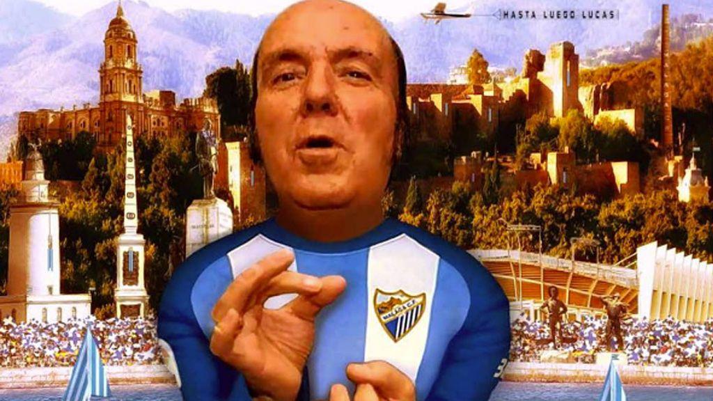 ¡Enorme el Málaga! El homenaje de La Rosaleda al gran Chiquito de la Calzada