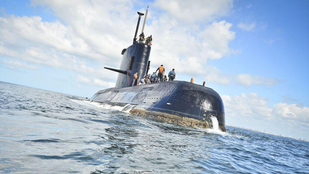 La Armada argentina recibe 7 intentos de conexión desde el submarino desaparecido