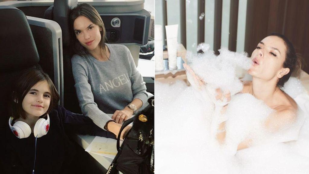 Baños, fiestas, su hija Anja... Alessandra Ambrosio se prepara para el que podría ser su último #VSFashionShow