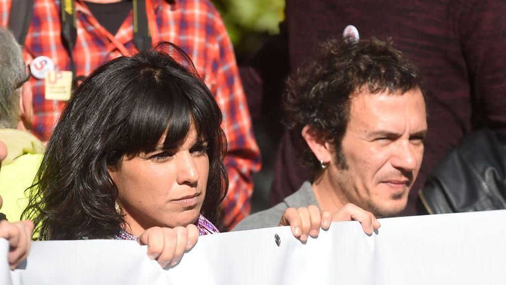 """La declaración de amor de Teresa Rodríguez al 'Kichi': """" Te amo, cariño, y lo grito al mundo sin complejos"""""""
