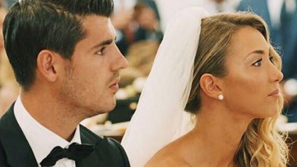 Álvaro Morata y Alice Campello: la foto que desata los rumores de embarazo