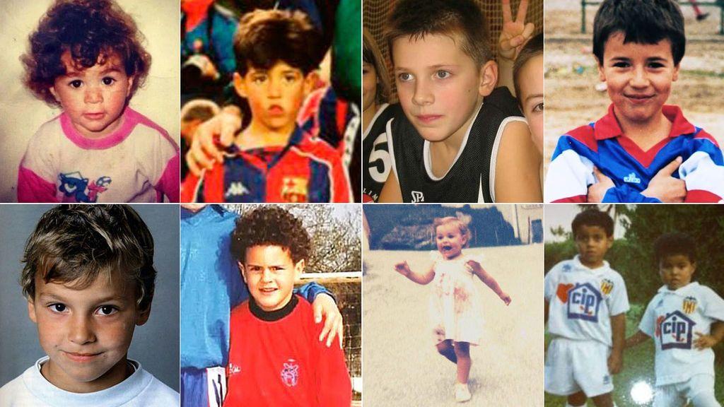 24 fotos de deportistas cuando eran niños… ¿los reconoces a todos?