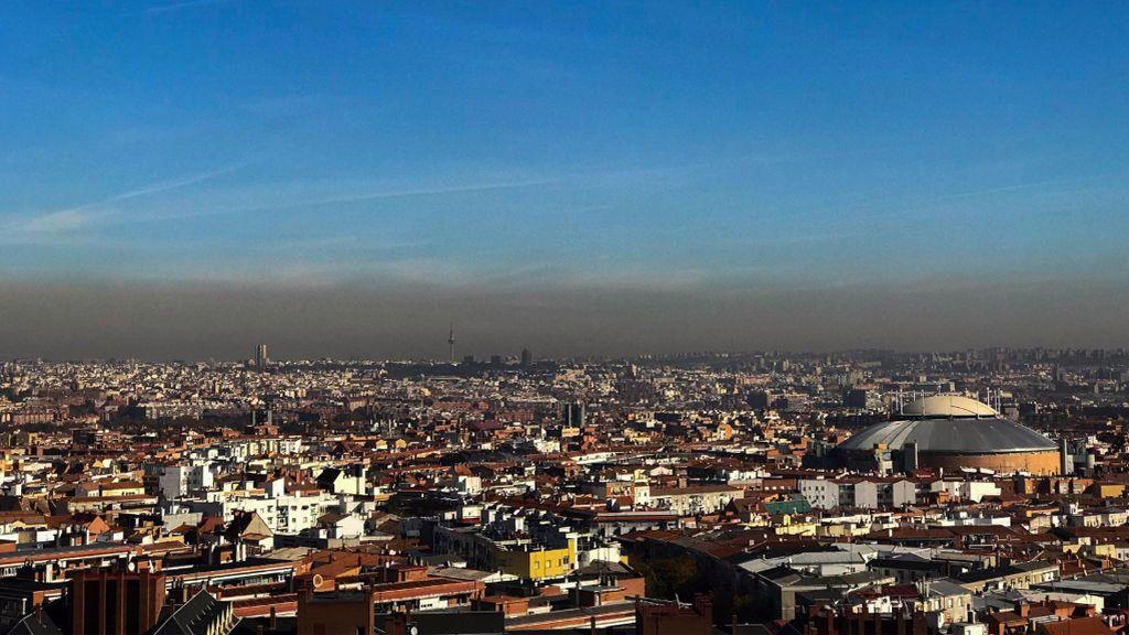 El cielo de Madrid da miedo