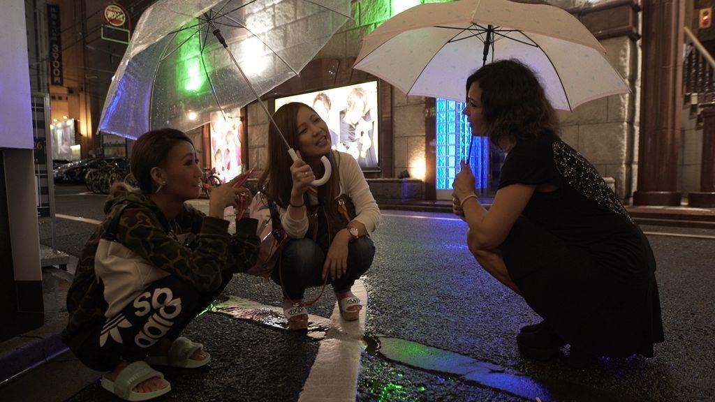 Imágenes de 'Fuera de cobertura' en Tokio.