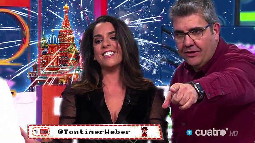 Tontimer Weber convierte a Ruth Lorenzo en una princesa Disney
