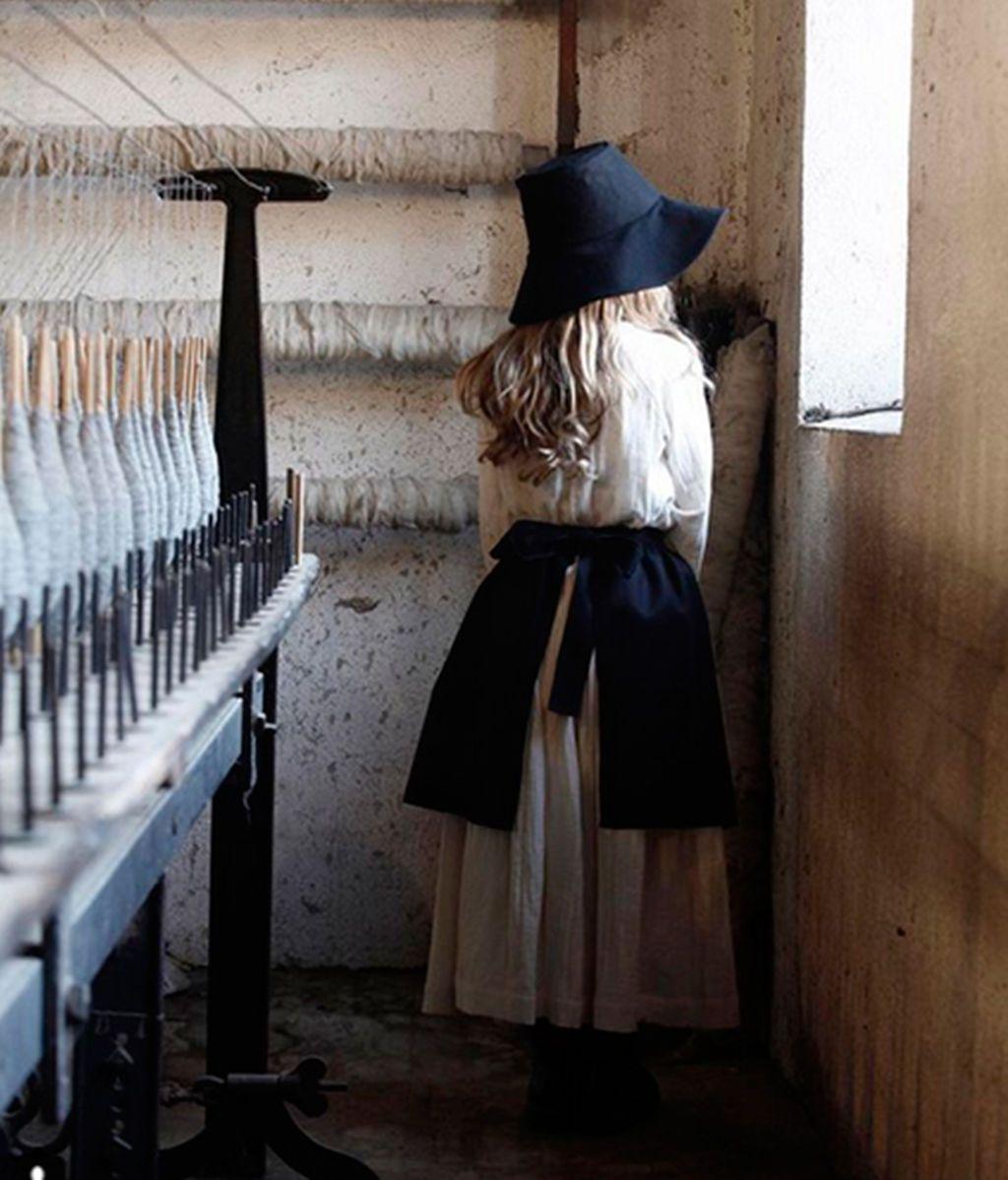 El kinfolk ya está aquí: la nueva tendencia es vestir a tus niños como Amish