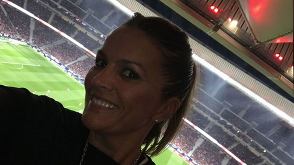 ¡Aupa Atleti! La jornada futbolera en familia de Marta López con sus hijos