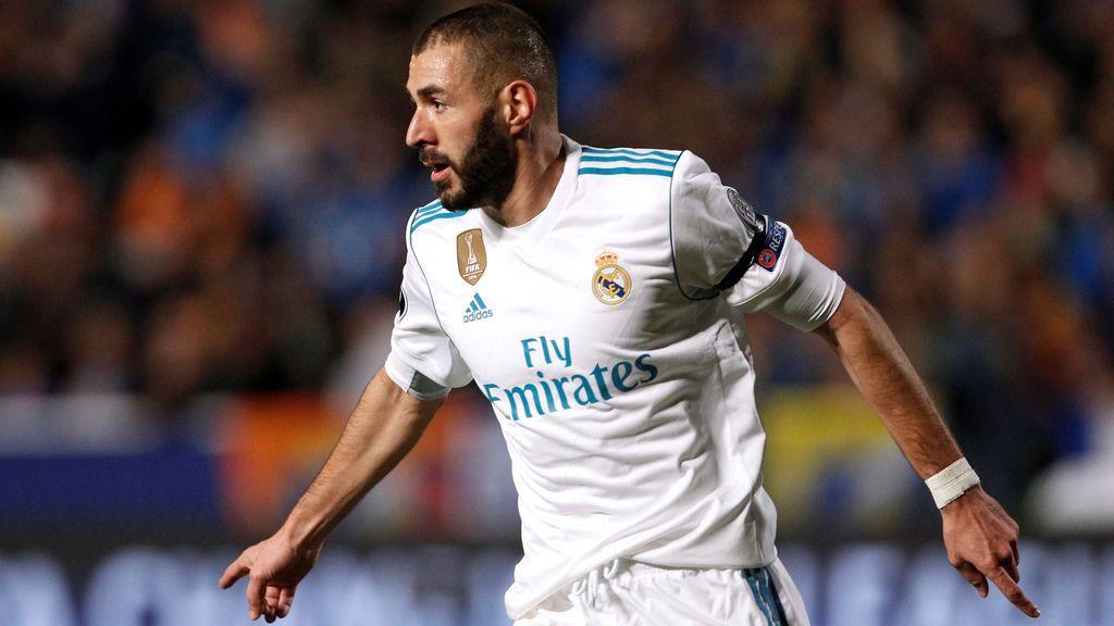 El Madrid se da un atracón de goles en Chipre y se asegura su pase a octavos de la Champions