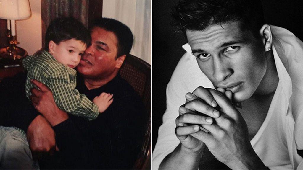 El nieto de Muhammad Ali al que tientan para que deje el fútbol y se haga modelo