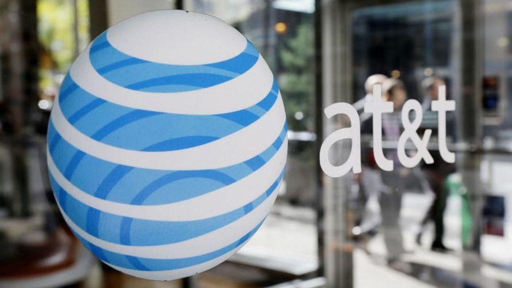 Entrada de una tienda de AT&T en Estados Unidos.