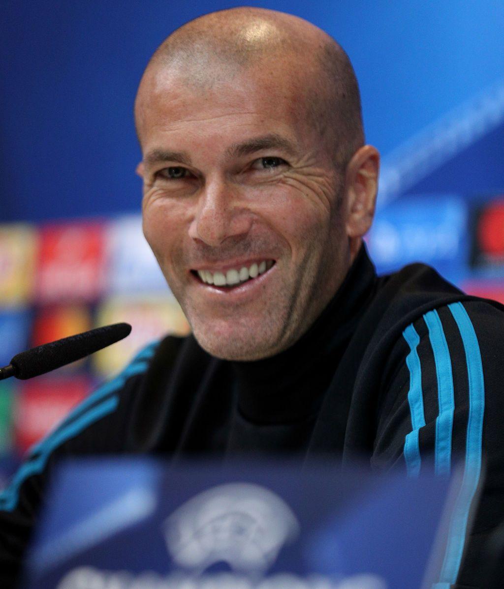 """Zidane: """"Algunos pueden estar preocupados, yo no. Somos el Madrid"""""""