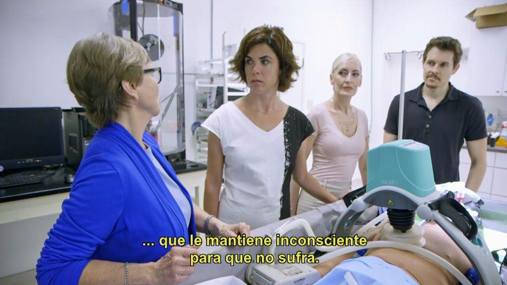 El hombre contra la muerte: Samanta visita un centro de criogenización activo