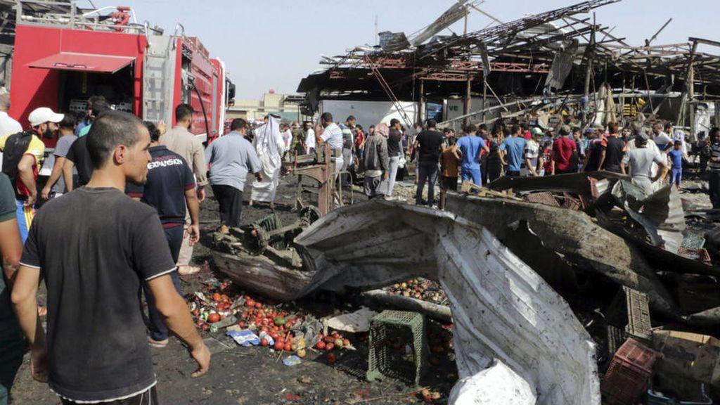 Veinte muertos en un atentado con camión bomba en el norte de Irak