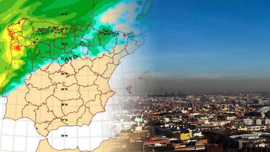 Fuera contaminación: ¿cuándo va a llover en Madrid?