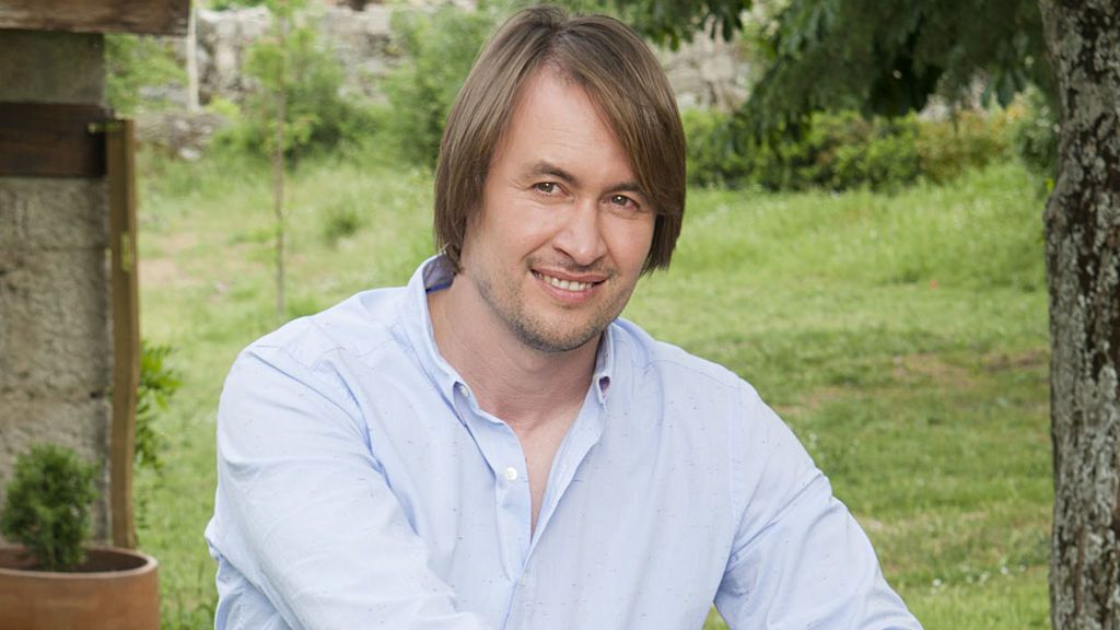 David, el granjero de 'los huevos de oro'.