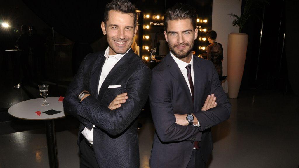 Duelo de guapos: Jesús Vázquez y Maxi Iglesias