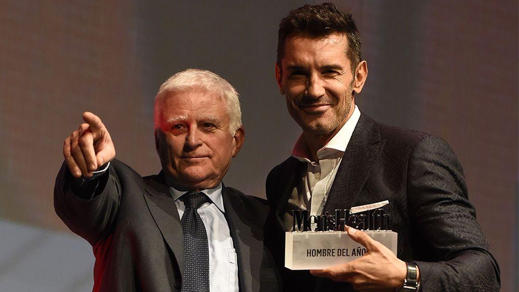 Jesús Vázquez y Paolo Vasile intercambian elogios en los premios Men's Health que reconocen la carrera del presentador