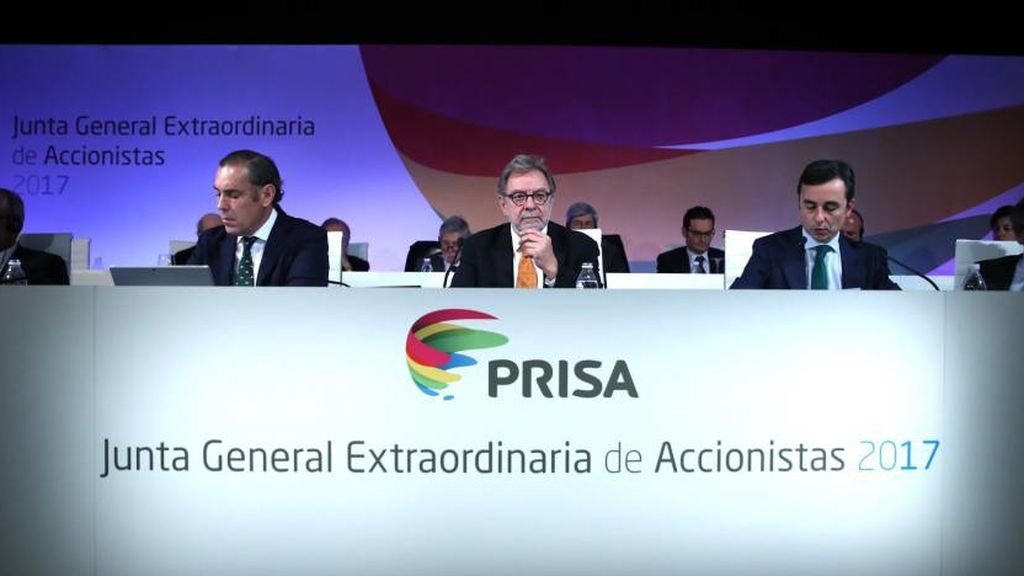 Junta General Extraordinaria de Accionistas de Prisa 2017.