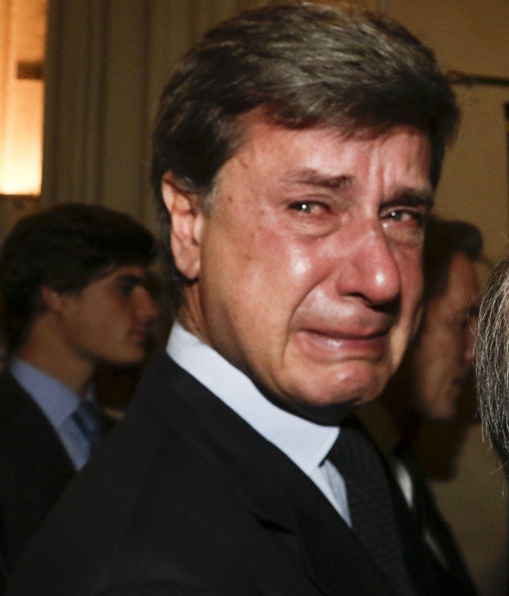 Cayetano Martínez de Irujo fue, sin duda, al que más afectado se vio durante al acto