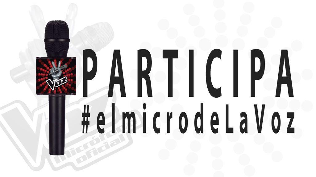 ¡Consigue #elmicrodeLaVoz y vente a la semifinal en Directo!