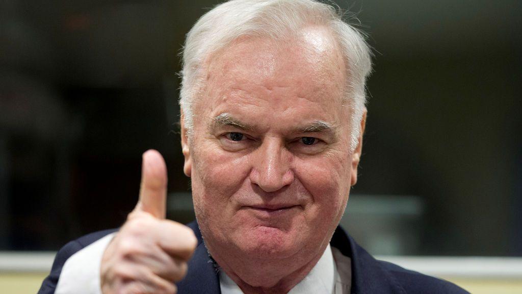 Ratko Mladic, el carnicero de Bosnia, condenado a cadena perpetua