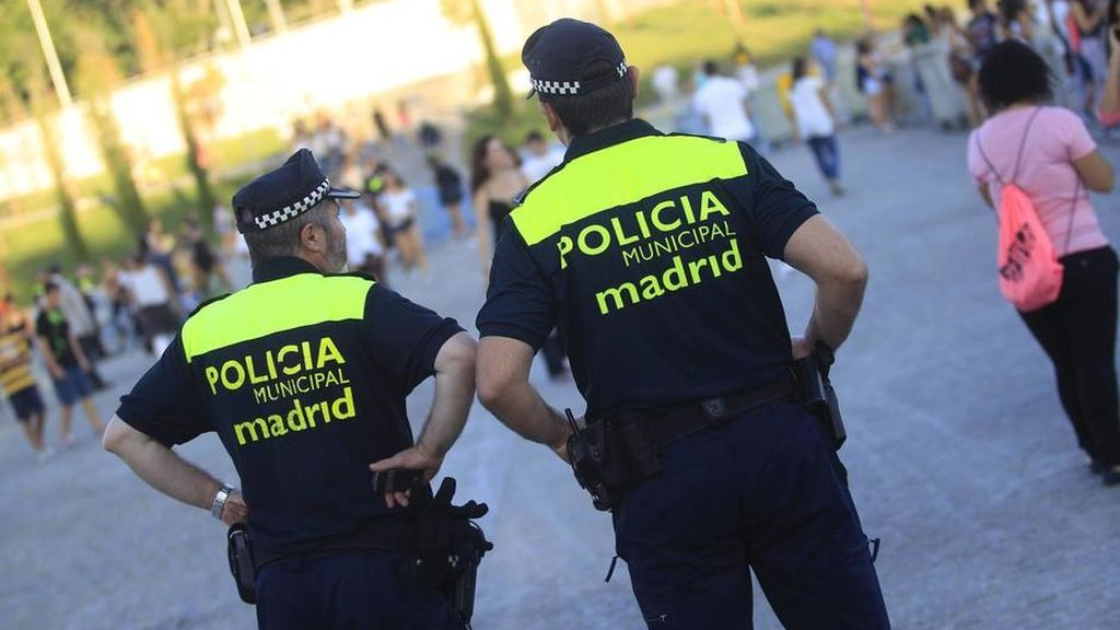 La Policía municipal de Madrid
