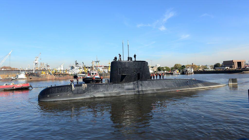Sigue sin haber rastro del submarino desaparecido en Argentina con 44 personas a bordo