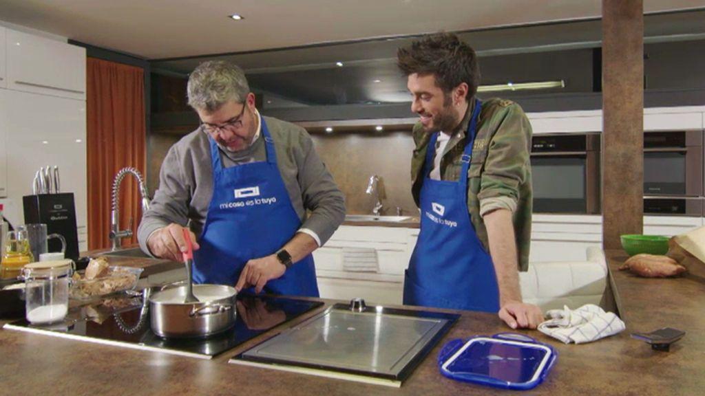 ¡Imitaciones y mucho desorden!: Dani y Flo la lían en la cocina de Bertín