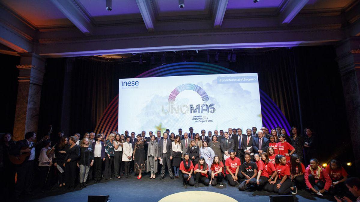Se buscan valientes' galardonada en los 'Premios Solidarios del Seguro'