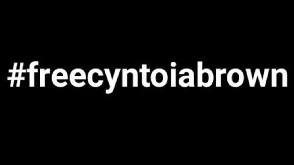 #freecyntoiabrown: Rihanna, Kim Kardashian o Cara Delevingne apoyan el caso de la niña que mató a su secuestrador y violador