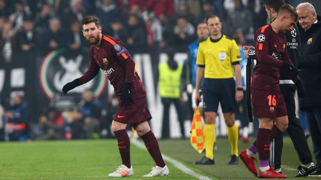 El Barcelona empata ante la Juventus (0-0) y se clasifica como líder a los octavos de la Champions