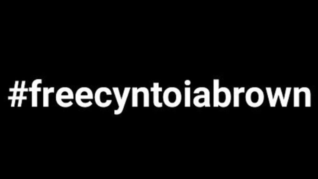 #freecyntoiabrown