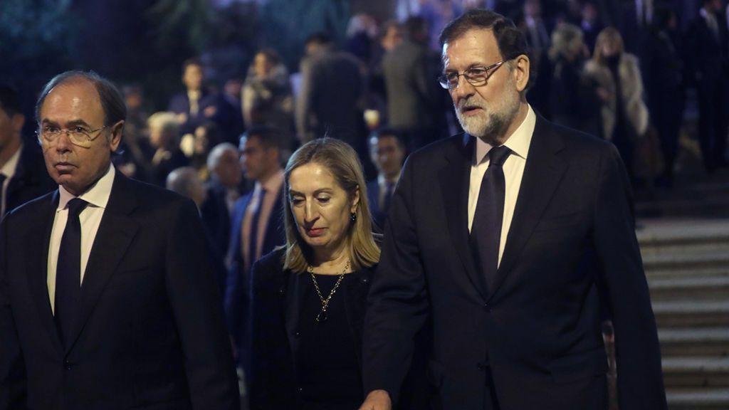 Rajoy y las autoridades del Estado acuden al funeral de José Manuel Maza