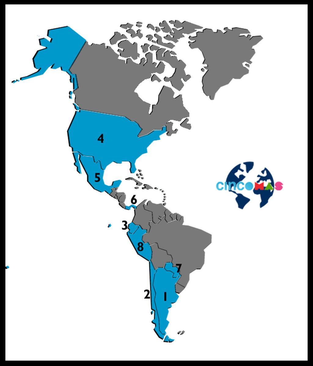 Mapa América CincoMAS con Logo2