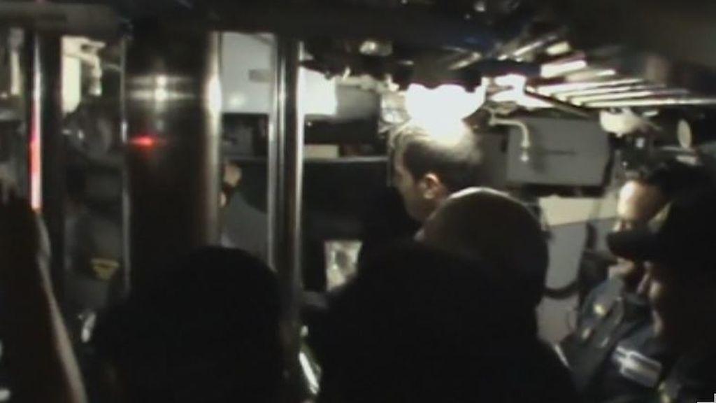 Hubo una explosión en la misma zona, hora y día en el que el submarino argentino alertó de una avería