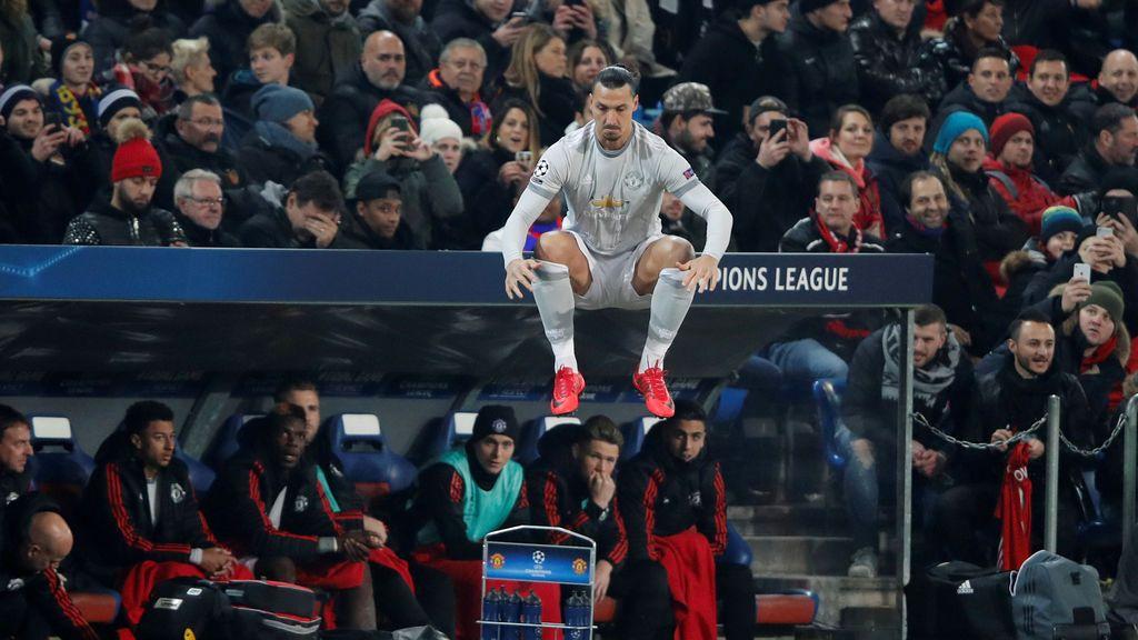 El salto de Ibrahimovic que dejó a sus compañeros con la boca abierta
