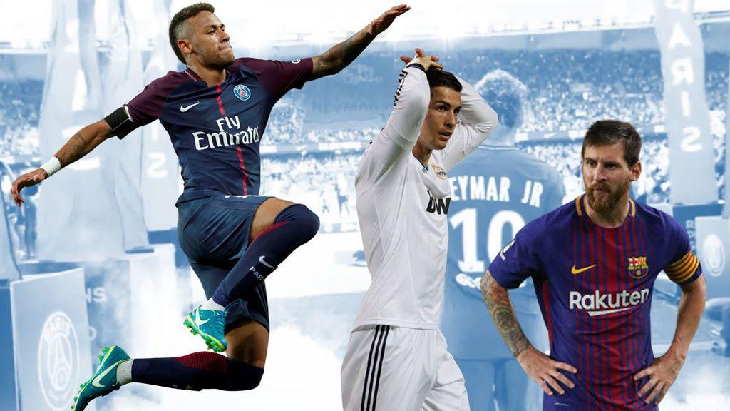 Los números de récord de Neymar que amenazan el trono de Messi y Cristiano Ronaldo