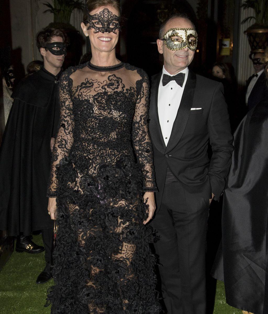 Adriana Ugarte, Pelayo, Naty... Fiestón de máscaras de Dior en Madrid
