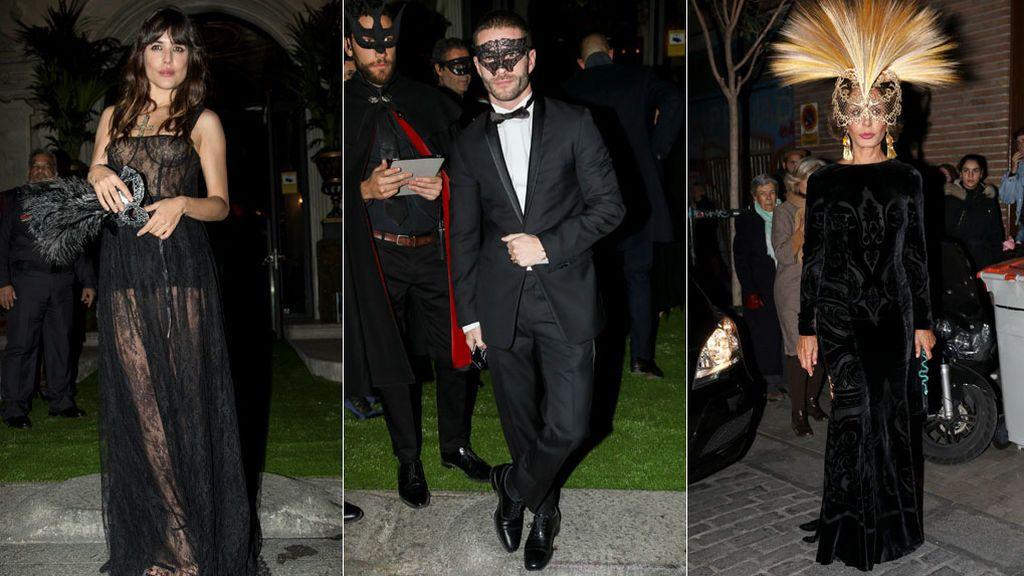 Adriana Ugarte, Pelayo, Naty Abascal... Fiestón de máscaras de Dior en Madrid