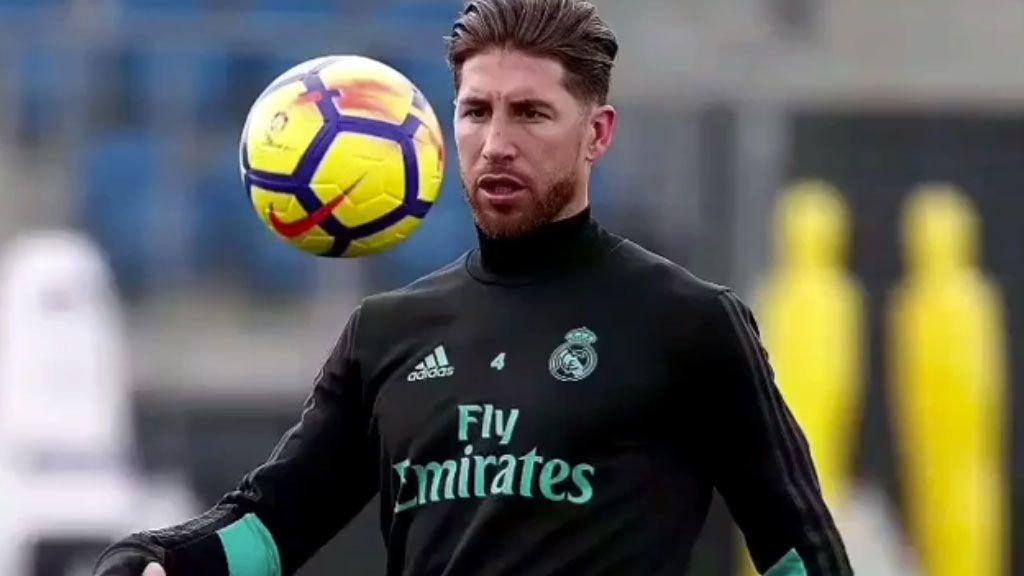 Sergio Ramos se entrena sin máscara y Keylor Navas apura su regreso