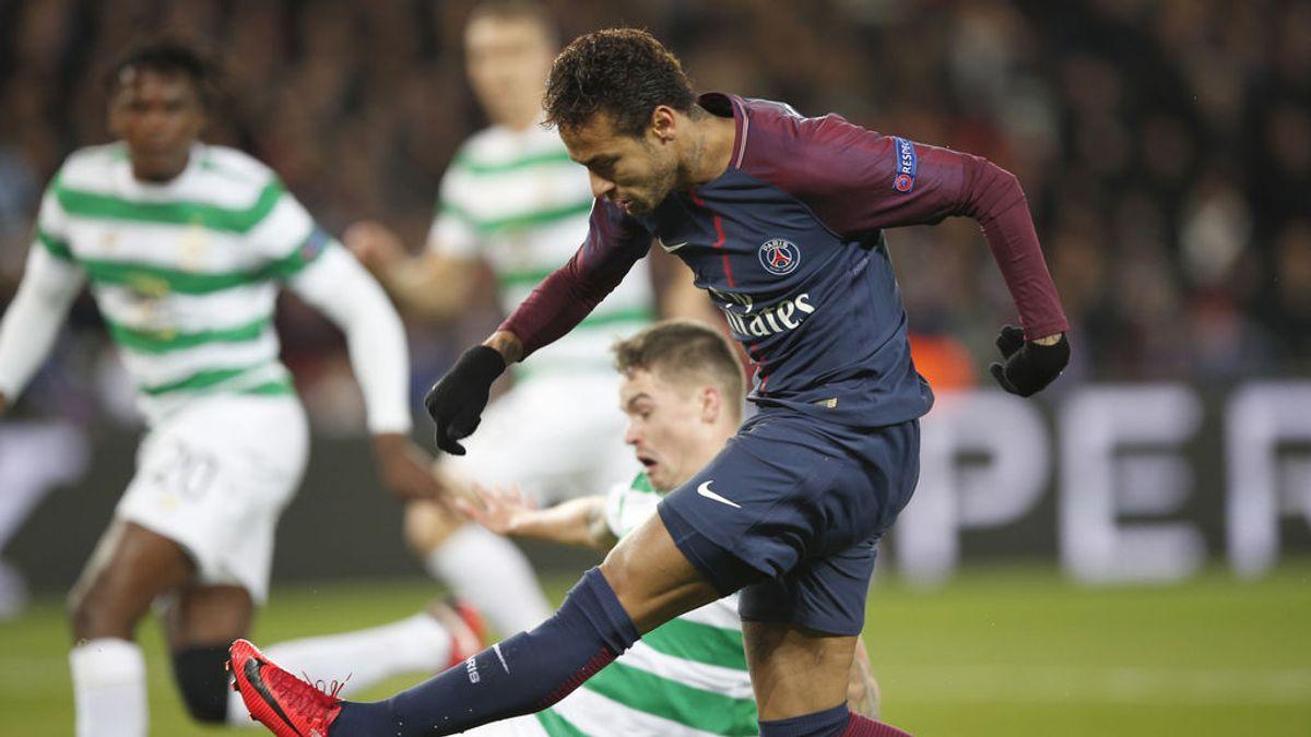 ¡Lección de deportividad! Las aficiones del PSG y del Celtic se encuentran en París y… montan una pachanga