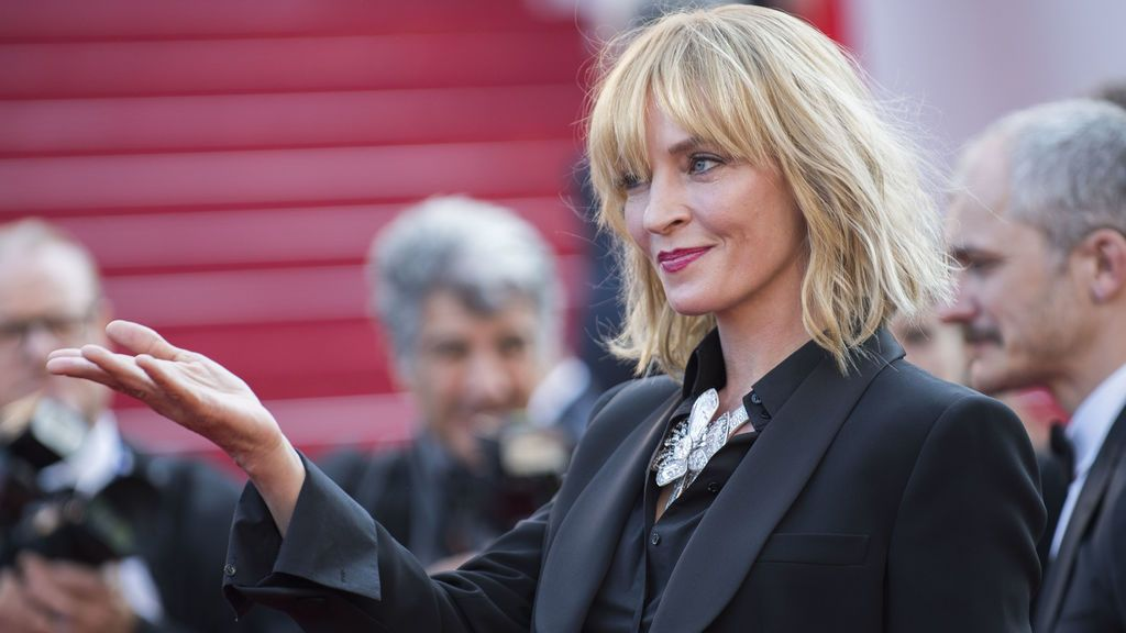 "El ""Happy Thanksgiving"" de Uma Thurman con el que da una bofetada sin manos a Harvey Weinstein"