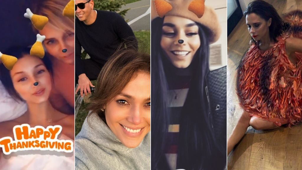 Acción de Gracias 'vip': así lo han celebrado Britney Spears, las Kardashian, Mario y Alaska y otras muchas 'celebrities'
